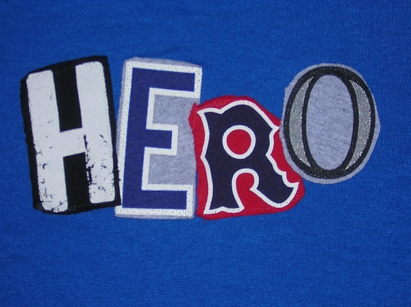 "Custom Made ""HERO"" Wondiosycra-Tee T-Shirt for Real World Hero Auction at RealWorldHero.com"