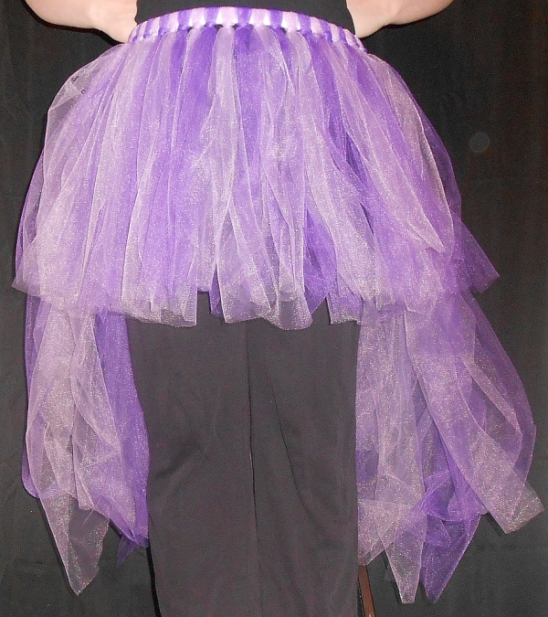 High-Low Tu-Tu Tulle Skirt Front View